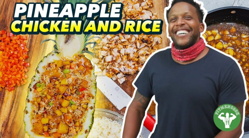 Low Sugar Pineapple Chicken and Rice