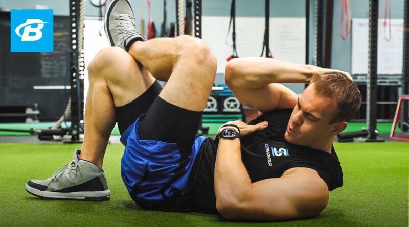 5 Minute Abs Workout | Chris Gronkowski