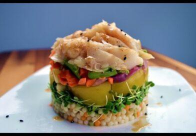 Fit Men Cook Stack Salad (Pila de Ensalada de Fit Men Cook)