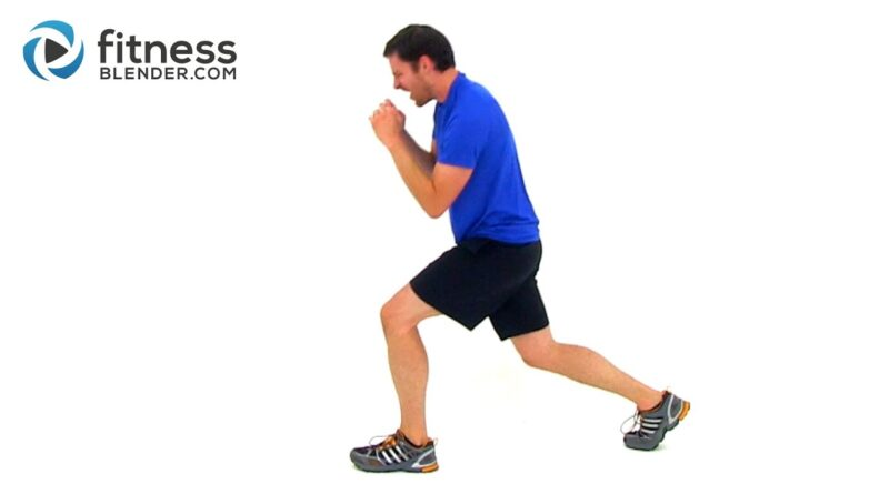 Lower Body HIIT for Strong Legs – Fitness Blender HIIT Man Workout